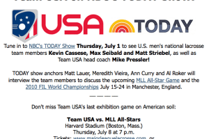 Team USA on The Today Show
