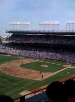 Wrigley Field - 73 degrees and sunny