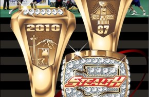 Washington Stealth 2010 Championship Ring