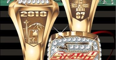 Washington Stealth 2010 Championship Ring