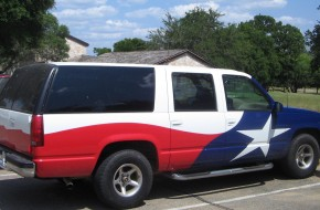 Texas SUV flag