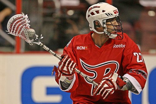 Casey Powell Lacrosse NLL Boston Blazers Top 5 American