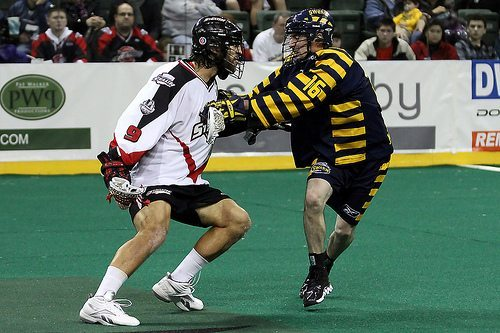 Paul Rabil Washington Stealth NLL Minnesota Swarm lacrosse lax