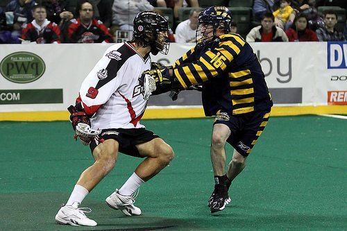 Paul Rabil Washington Stealth NLL Minnesota Swarm lacrosse lax