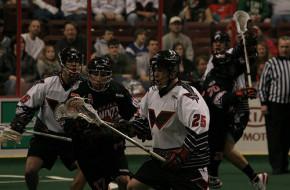 Philadelphia Wings Buffalo Bandits NLL lacrosse lax 2011
