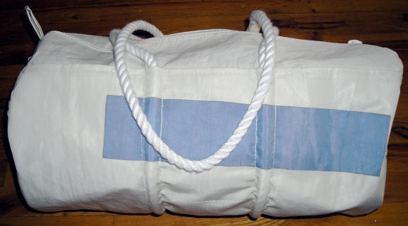 seabags maine sailboat sail bag recycle green sea bag