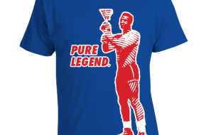 Jim Brown Pure Legend Lacrosse t-shirt