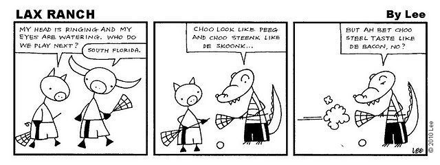 Lax Ranch comic strip