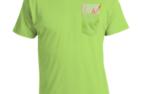 Mesh Pocket Lacrosse t-shirt