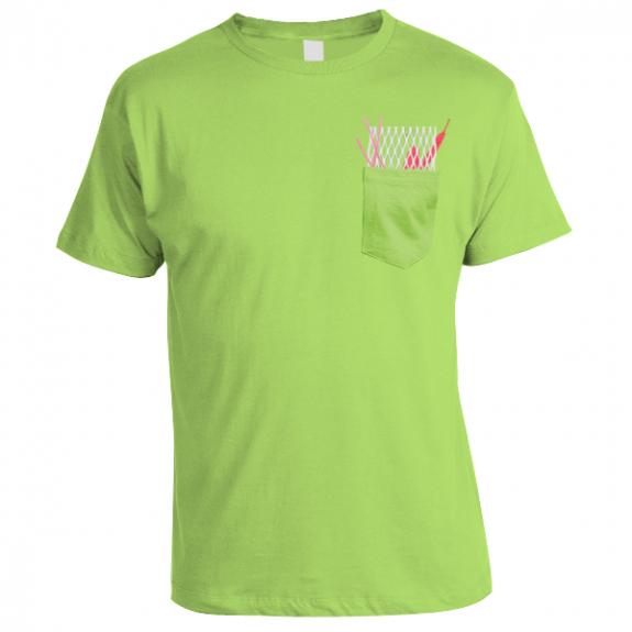 Mesh Pocket Lacrosse t-shirt