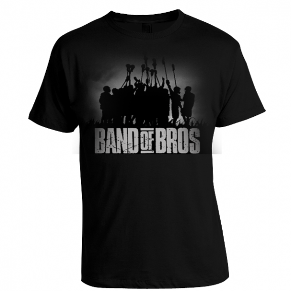 """Band of Bros"" lacrosse t-shirt"