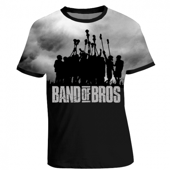 """Band of Bros"" lax t-shirt"