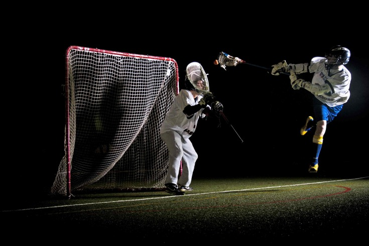 diving lax picture lacrosse Germany Marburg Saints goalie save goal lacrosse