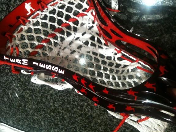 Team Jesse Lacrosse Kevin Owens dye job lax