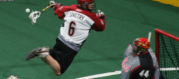 brian langtry-all star game NLL lax lacrosse