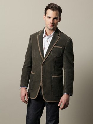 Robert Graham Cotton Green River Blazer