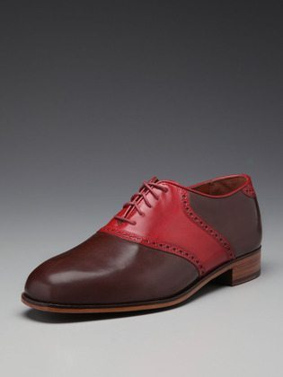 Florsheim by Duckie brown contrast oxford brown red