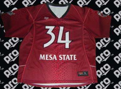 mesa state uniforms pro athletics