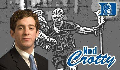 Ned Crotty Duke University Lacrosse