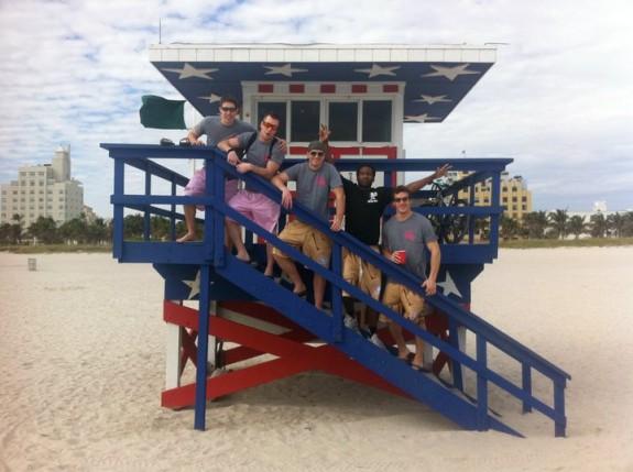 Miami Life Guard house South Beach
