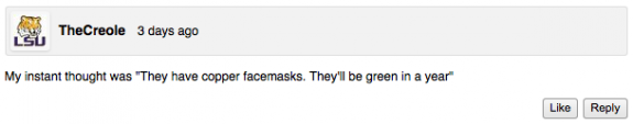 Lax All Stars Comment of the Week