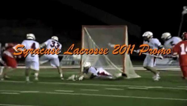 2011 Syracuse Lacrosse Promo