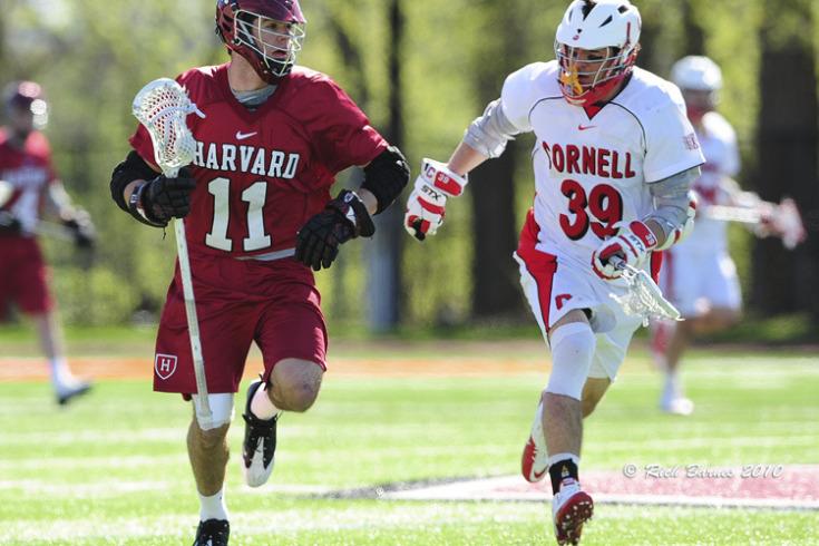 Harvard Cornell Lacrosse 2010 Warrior Brine lax