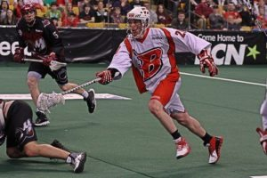 Boston Blazers lacrosse NLL lax box indoor