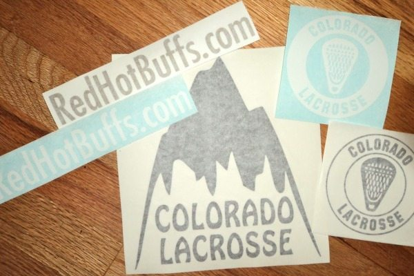 Colorado Lacrosse stickers