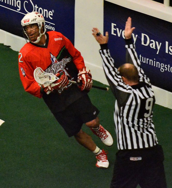 2011 NLL All Star Game Casey Powell