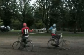 Dutch Lacrosse jousting bikes bicycle