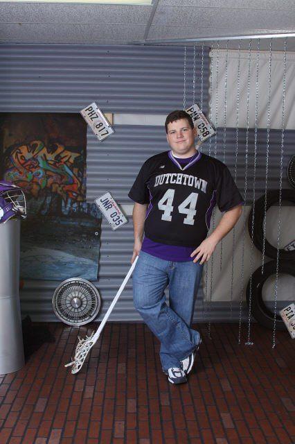 Russell Knaps Senior Pic lacrosse