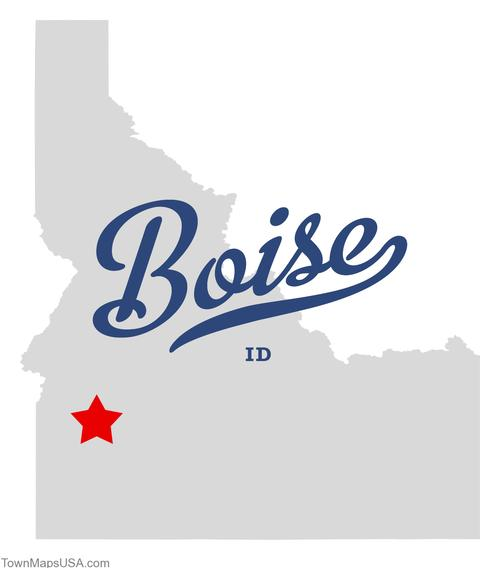 Boise Idaho Map