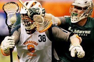Syracuse LeMoyne scrimmage lacrosse