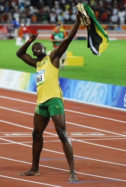 Usain Bolt Jamaica world record sprint fast