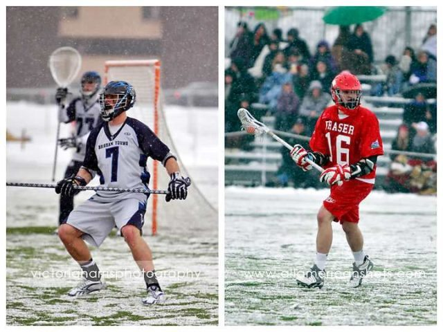 BYU SImon Fraser Lacrosse 2011 lax snow