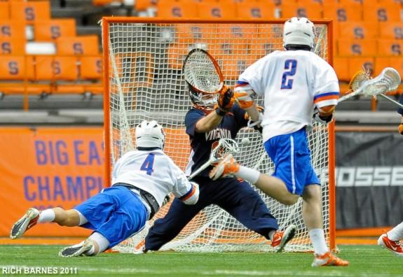 Jeremy Thomspon Syracuse lacrosse lax.com