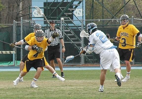 UNC UMBC Lacrosse Rob Berkenbit