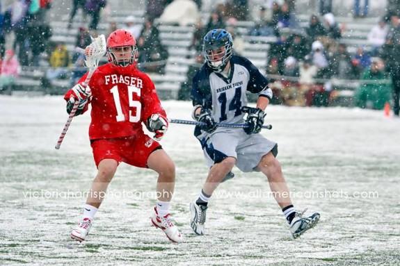 BYU SImon Fraser Lacrosse 2011 lax snow