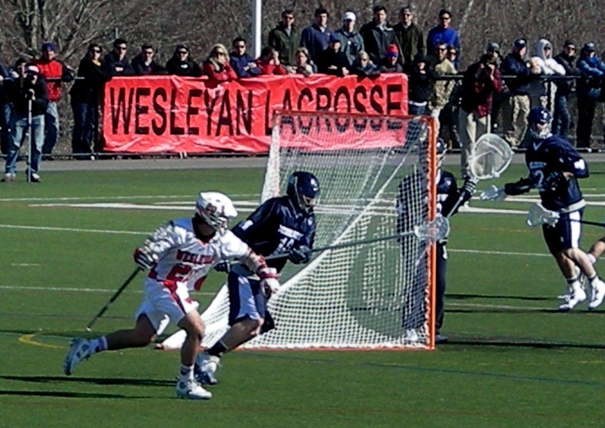 Wesleyan Middlebury Lacrosse 2011