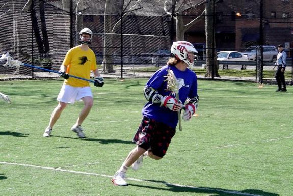 Ulax Wesleyan lacrosse lid COnnor Wilson