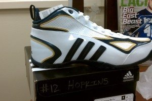 Notre Dame Lacrosse Adidas cleats