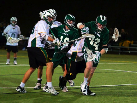 Oregon - Michigan State Lacrosse Lax MCLA Oregon - Michigan State Lacrosse Lax MCLA