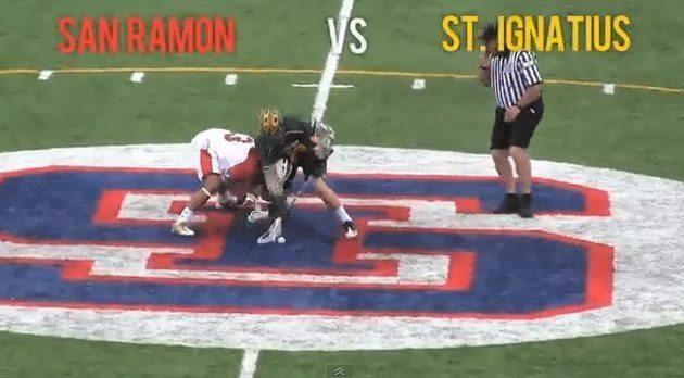 San Ramon vs. St. Ignatius men's lacrosse
