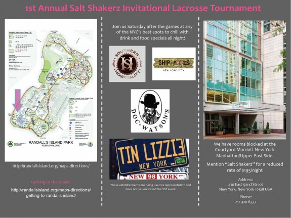 Salt Shakerz Tournament
