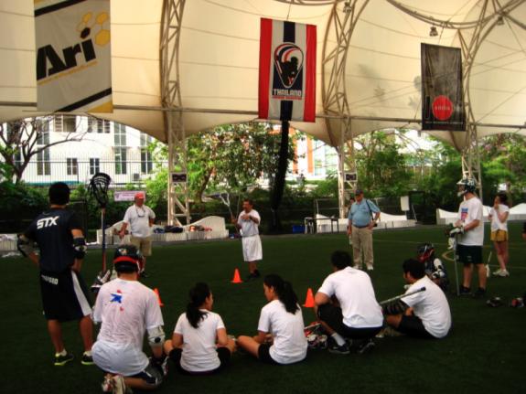 Thailand Lacrosse FIL Development Clinic