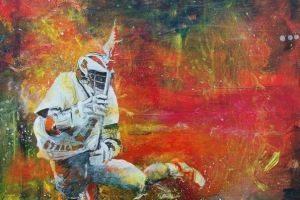 Jeff Allen Lacrosse Art