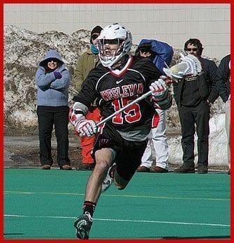 Max Landow Wesleyan lacrosse lax