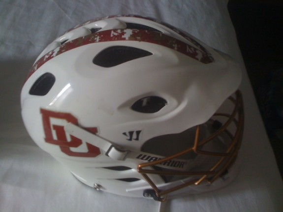 Denver Lacrosse Warrior Helmet Lax T2 TII