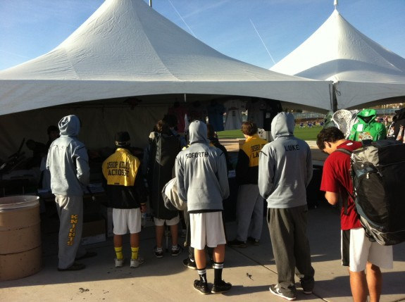 lacrosse tent camp tourney